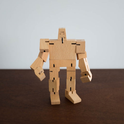 Small Cubebot Natural