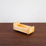 Wooden Waldorf Doll Bed Toy