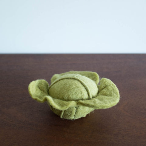 Wool Felt Food Toy: Lettuce