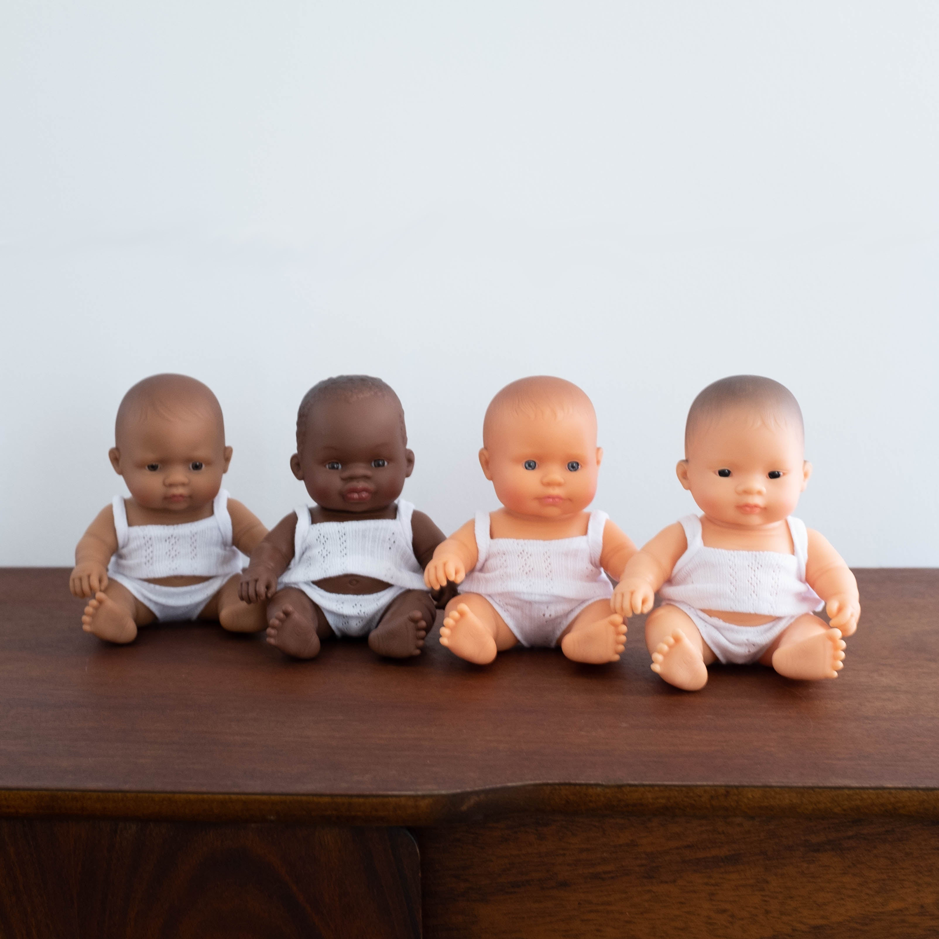 Mini Newborn Baby Doll- African Girl