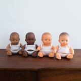 Mini Newborn Baby Doll- Caucasian Boy