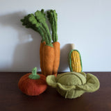 Wool Felt Food Toy: Pumpkin