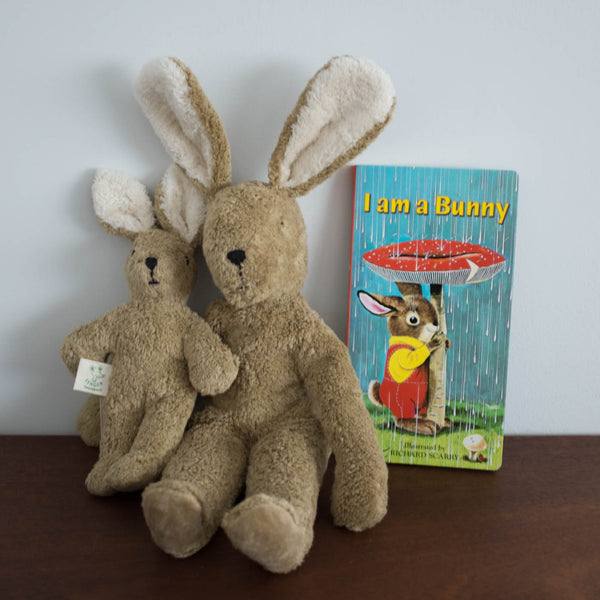 Senger Organic Brown Bunny Plush Doll