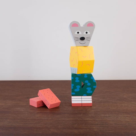 Block Party: Mouse Toy