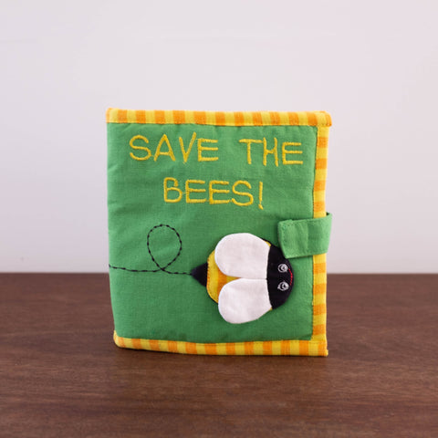 Baby Fabric Book- Save the Bees
