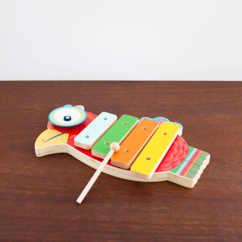 Animambo Wooden Bird Xylophone