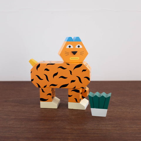 Block Party: Tiger Toy