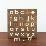 Alphabet Wooden Puzzle- Lowercase