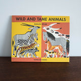Wild and Tame Animals Book