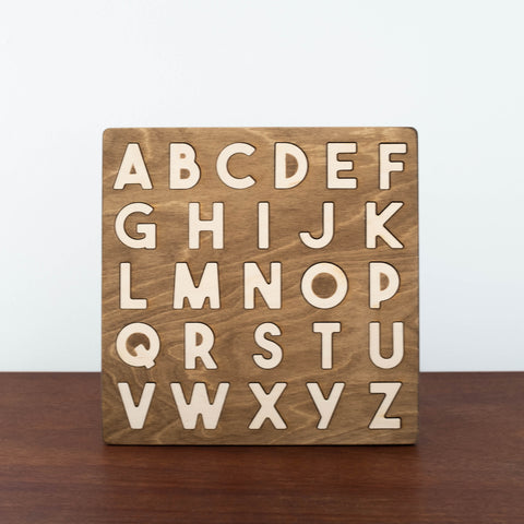 Alphabet Wooden Puzzle- Uppercase