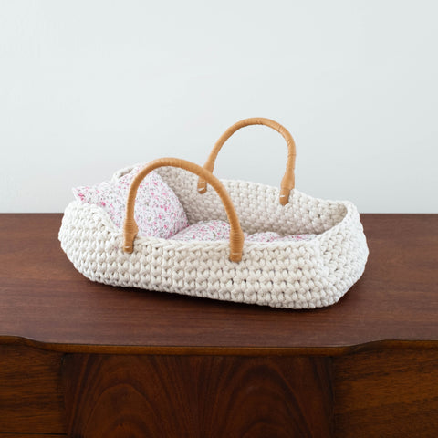 French Doll Knit Carrier Basket