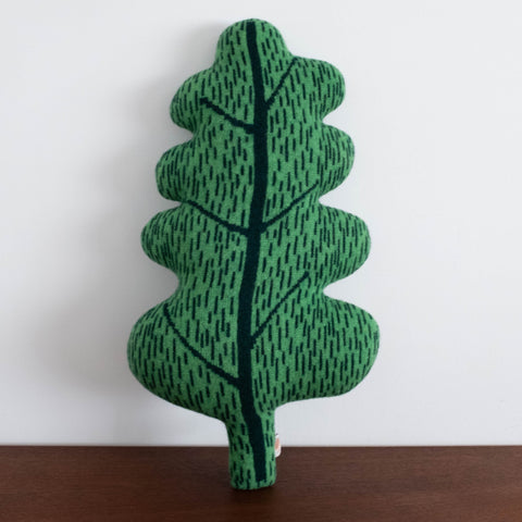Leaf Green Cushion Pillow