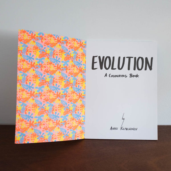 Evolution Coloring Book