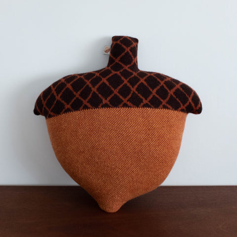 Brown Acorn Cushion Pillow