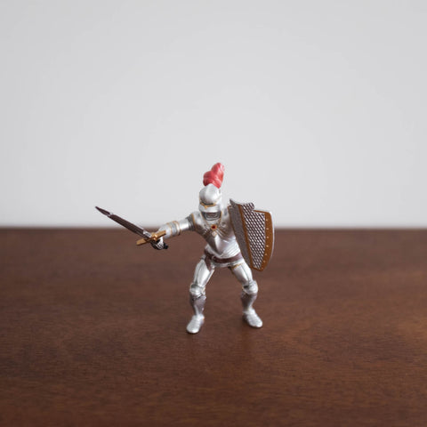 Papo Knight in Armor with Red
