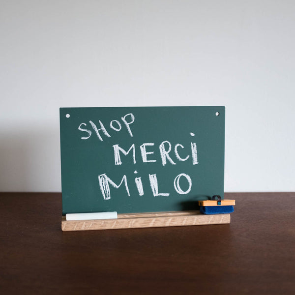 Green Japanese Chalkboard Set - Small