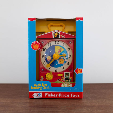 Retro Teaching Clock Toy