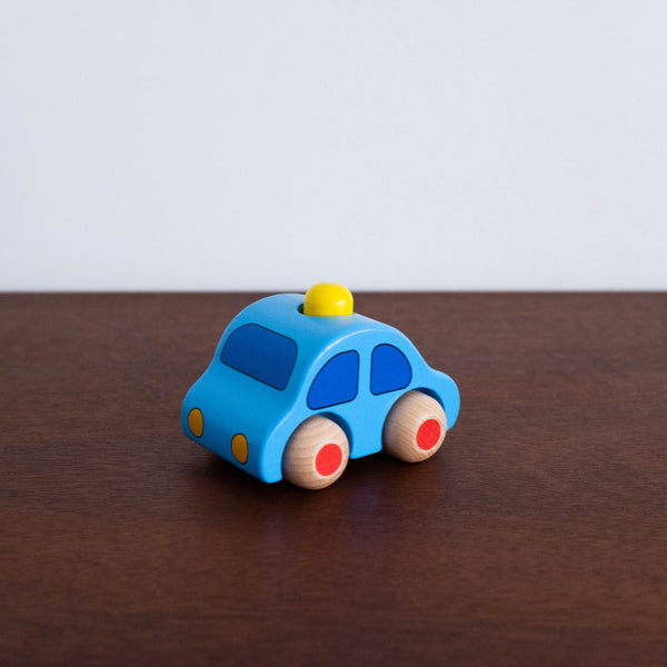 Wooden Cars with Horn Toy