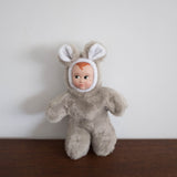 Sweetheart Doll Animal- Gray Mouse