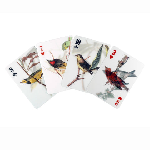3D Illustrated Bird Playing Cards