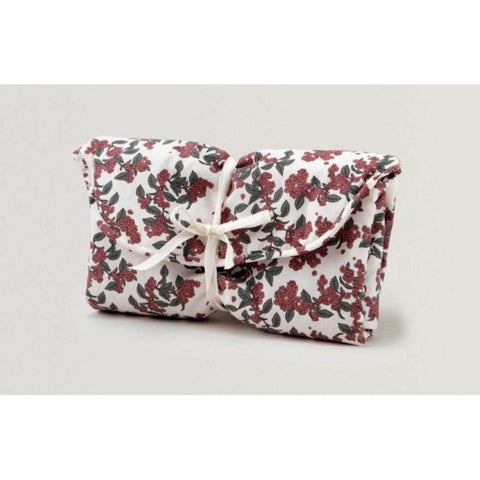 Cloth Changing Pad To Go Case- Cherries