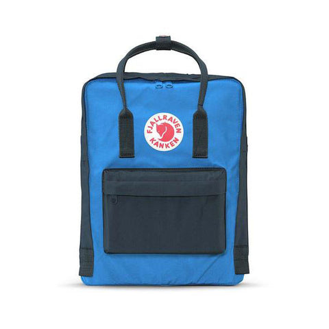 Fjallraven Mini Kanken Backpack - Graphite-Un Blue