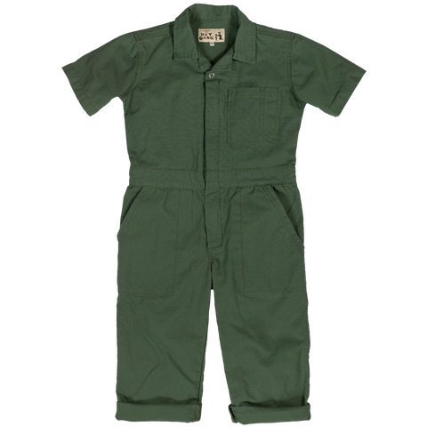 Traditional Coverall- Army Green