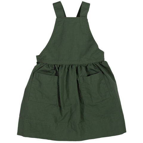 Pinafore- Army Green