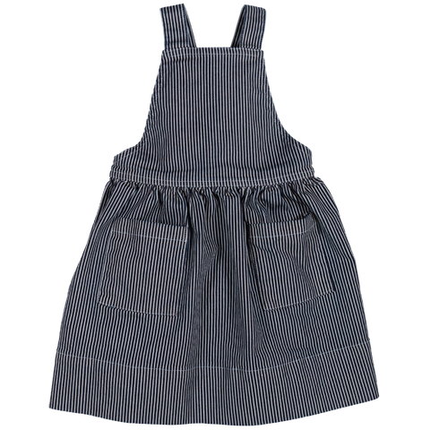 Pinafore- Hickory Stripe