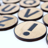 ABC Wooden Magnet Set