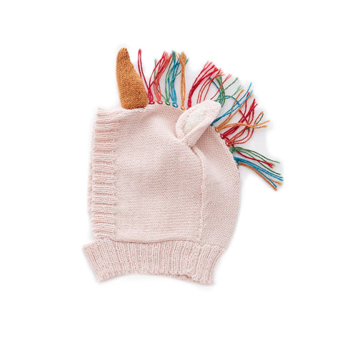 Animal Knit Hat- Unicorn