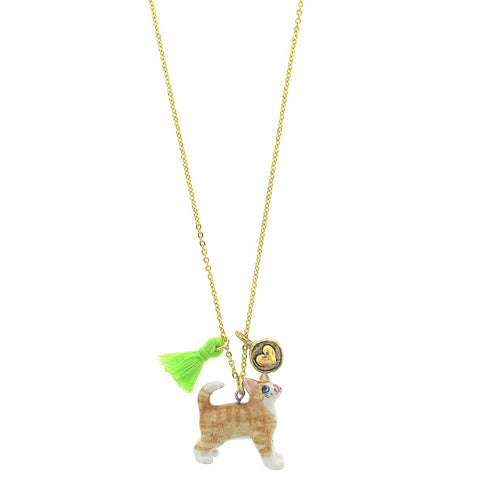 Lil' Critters Cat Necklace