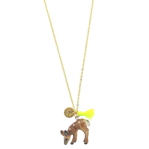 Lil' Critters Deer Necklace