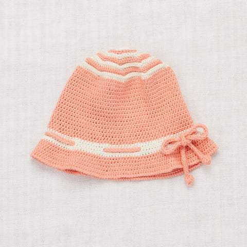 Ever Knit Hat- Coral