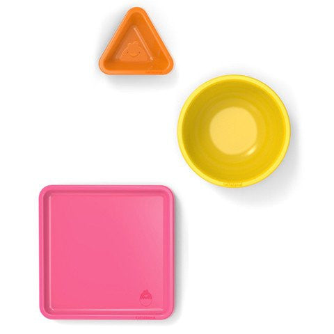 Lollaland Mealtime 3 pc. Set- Pink