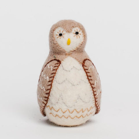 The Owl Luna Felt Ornament