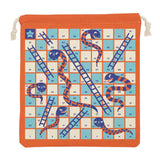 Snakes and Ladders Travel Game Set