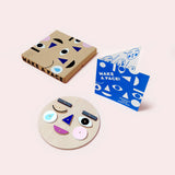 Make A Face Wooden Puzzle Set