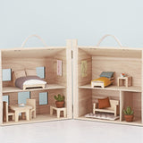 Holdie Single Bed Doll Furniture Set