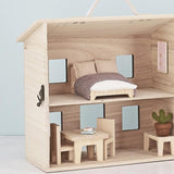 Holdie Double Bed Doll Furniture Set