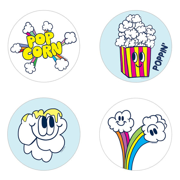 Scratch and Sniff Stickers: Popcorn