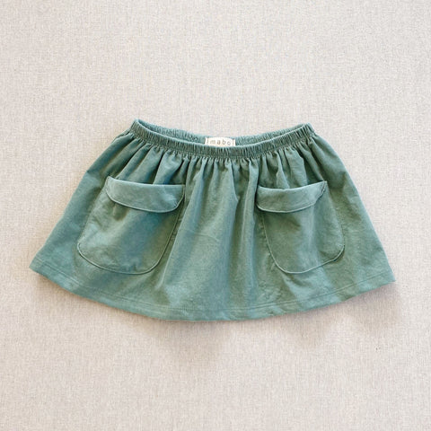 Frances Corduroy Skirt- Mint