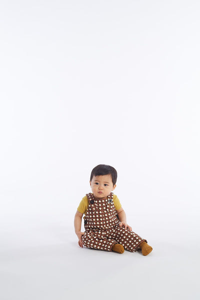 Lattice Canvas Overalls