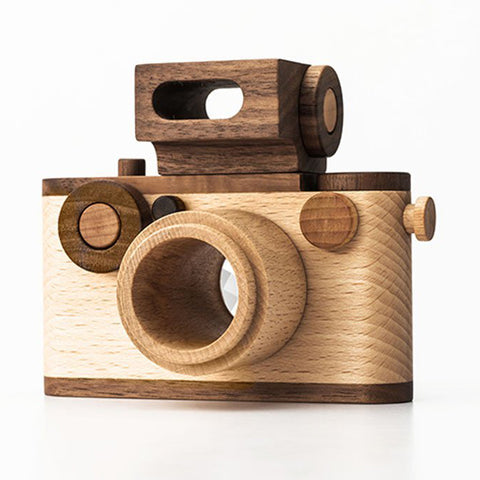 35mm Wooden Toy Camera with Kaleidoscope- #2