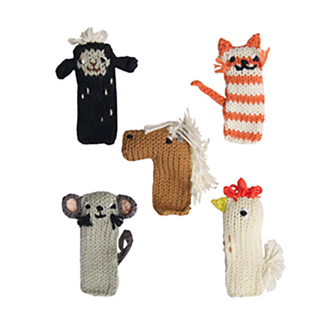 Finger Puppets by Blabla Kids Farm - Set of 5