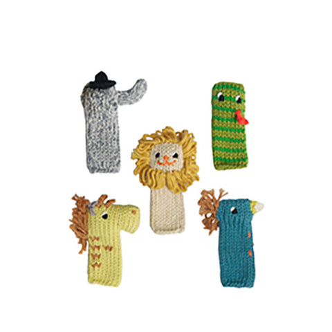 Finger Puppets by Blabla Kids Jungle - Set of 5