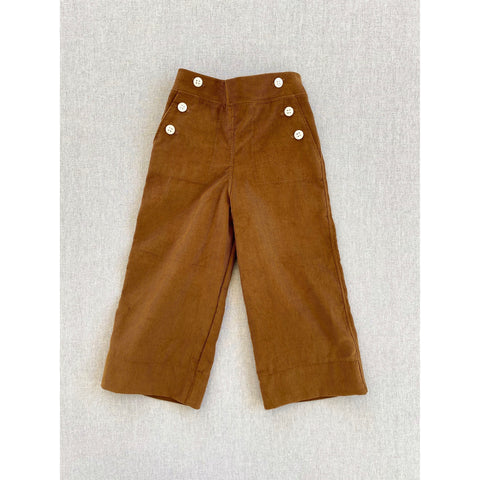 Remy Corduroy Pants- Gold