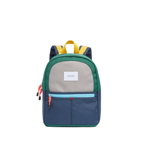 Mini Kane Backpack- Gray/Blue