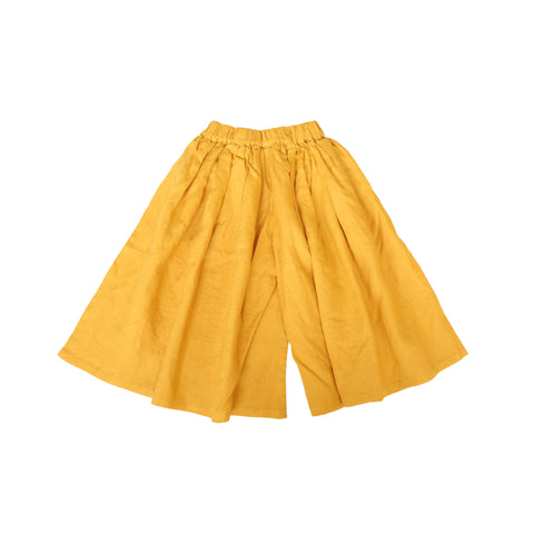 Yellow Wide Legged Pants
