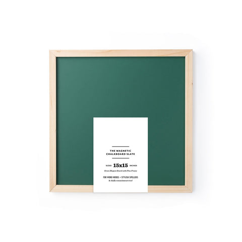 Magnetic Chalkboard- Green